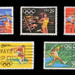 UNITED STATES OF AMERICA - CIRCA 1991: A stamp printed in USA dedicated to Olympic Games of Barcelona 92, circa 1991 — Stock Photo