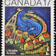 CANADA - CIRCA 1981: stamp printed in Canada shows Acadia, circa 1981 — Stock Photo