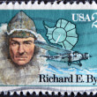 UNITED STATES OF AMERIC- CIRC1988: stamp printed in USshows Richard E. Byrd, circ1988 — Stockfoto #11755897