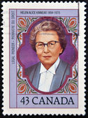CANADA - CIRCA 1993: stamp printed in Canada, shows Helen Alice Kinnear, circa 1993 — Stockfoto