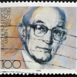 GERMANY - CIRCA 1992: stamp printed in Germany shows Martin Niemoller, Theologian, circa 1992. - Stockfoto