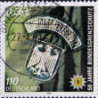 GERMANY- CIRC2001: stamp printed in Germany shows Federal Border Police, circ2001. — Stockfoto #11844198