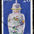 GERMANY - CIRCA 1979: A stamp printed in the Germany shows a China vase Meissner, circa 1979 — Stock Photo #11844203