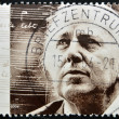 GERMANY - CIRCA 2004: A stamp printed in the Germany shows a portrait of the composer Scwarz-Schilling, Reinhard, circa 2004 - Stockfoto