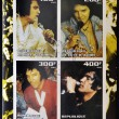 IVORY COAST - CIRC2003: collection stamps shows Elvis Presley, circ2003 — Stock Photo #11844320