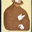 GERMANY - CIRCA 1982: A stamp printed in Germany shows Martin Luther, circa 1982 — Stock Photo
