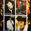 IVORY COAST - CIRCA 2003: collection stamps shows Elvis Presley, circa 2003 — Stock Photo