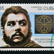 CUBA - CIRCA 1996: A stamp printed in Cuba shows Ernesto Che Guevara, circa 1996 — Stock Photo #11969618