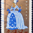 Постер, плакат: FRANCE CIRCA 2006: A stamp printed in France shows Opera of Mozart Cos