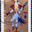 FRANCE - CIRCA 2006: A stamp printed in France shows Opera of Mozart - The Magic Flute, circa 2006 — Stock Photo