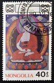 MONGOLIA - CIRCA 1990: A stamp printed in Mongolia shows Chu Lha, circa 1990 — ストック写真