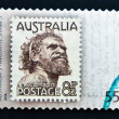 Stock Photo: AUSTRALI- CIRC2009: stamp printed in Australishowing Aborigine Mnamed One Pound Jimmy, circ2009