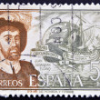 Royalty-Free Stock Photo: SPAIN - CIRCA 1976: A stamp printed in spain shows Juan Sebastian Elcano, circa 1976