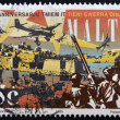 MALTA - CIRCA 1995: Stamp printed in Malta dedicated to 50th Anniversaries end of World War II, circa 1995. — Stock Photo