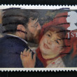Stock Photo: UNITED KINGDOM - CIRC2005: stamp printed in Great Britain shows 'LDanse lCampagne' by Renoir, circ2005
