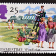 UNITED KINGDOM - CIRC1994: stamp printed in Great Britain shows Wimbledon, Summertime, circ1994 — Stock Photo #12129993