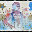 Stock Photo: UNITED KINGDOM - CIRC1985: stamp printed in Great Britain shows image of principal boy in Christmas pantomime, circ1985