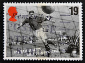 UNITED KINGDOM - CIRCA 1993: A stamp printed in Great Britain dedicated to Football Legends, shows Dixie Dean, circa 1993 — Stock Photo