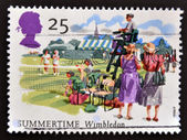 UNITED KINGDOM - CIRCA 1994: A stamp printed in Great Britain shows Wimbledon, Summertime, circa 1994 — Foto Stock