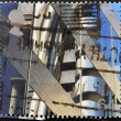 UNITED KINGDOM - CIRCA 1999: A stamp printed in Great Britain shows Lloyd's Building (City of London finance centre), circa 1999 — Stock Photo #12365833