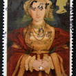 UNITED KINGDOM - CIRCA 1997: A stamp printed in Great Britain shows Anne of Cleves, wife of Henry VIII, circa 1997 — Stock Photo #12365842