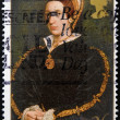 UNITED KINGDOM - CIRCA 1997: A stamp printed in Great Britain shows Catherine Howard, wife of Henry VIII, circa 1997 — Stock Photo #12365887