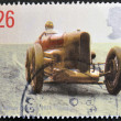 UNITED KINGDOM - CIRCA 1998: A stamp printed in Great Britain shows image of Sir Henry Seagrave's Sunbeam, 1926, circa 1998 — Stock Photo