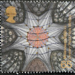 UNITED KINGDOM - CIRC2000: stamp printed in Great Britain shows Chapter House Ceiling, York Minster (York Milennium Mystery Plays), circ2000 — Stock Photo #12365898