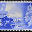 Stock Photo: UNITED KINGDOM - CIRC1948: stamp printed in Great Britain dedicated to Channel Islands Liberation, circ1948