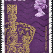 UNITED KINGDOM - CIRCA 1978: A stamp printed in Great Britain shows Imperial State Crown, circa 1978 — Stock Photo