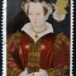 Foto de Stock  : UNITED KINGDOM - CIRC1997: stamp printed in Great Britain shows Catherine Parr, wife of Henry VIII, circ1997
