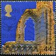 UNITED KINGDOM - CIRCA 1999: A stamp printed in Great Britain shows St Andrews pilgrimage, circa 1999 — Stock Photo