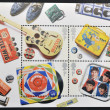 Stock Photo: UNITED KINGDOM - CIRC2007: stamp printed in Great Britain dedicated to Beatles, circ2007