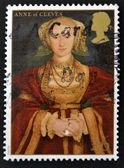 UNITED KINGDOM - CIRCA 1997: A stamp printed in Great Britain shows Anne of Cleves, wife of Henry VIII, circa 1997 — Stock Photo