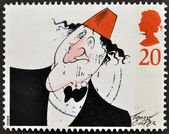 UNITED KINGDOM - CIRCA 1998: A stamp printed in Great Britain shows image of Tommy Cooper, circa 1998. — Stock Photo