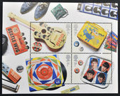 UNITED KINGDOM - CIRCA 2007: A stamp printed in Great Britain dedicated to The Beatles, circa 2007 — Stock Photo