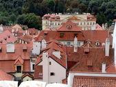 Veduta aerea di praga, repubblica ceca — Foto Stock
