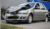 Renault Accident — Stock Photo