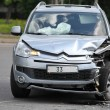 Stock Photo: Citroen C-Crosser after accident