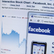 Stock Photo: Facebook stocks