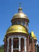 Domes of church — Stock Photo