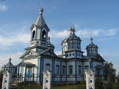 Beautiful slavic church — Stock Photo