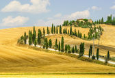 Old farm in Val d'Orcia (Tuscany) — Stock Photo
