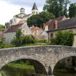 攻-sur-塞纳河畔 — 图库照片