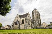 Dormelles-教会 — 图库照片