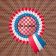 A symbol of Croatia — Stock Vector
