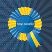 A symbol of Sweden — Stock Vector
