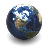 USA Earth Globe — Stock Photo