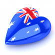 Heart Australia — Stock Photo #11228942