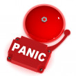 Panic Alarm Bell — Stock Photo